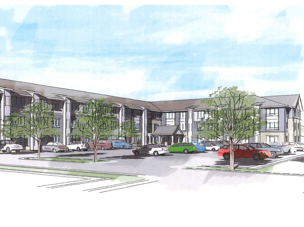 The 57-unit Sarazin Street Flats from MWF Properties is the only recently approved apartment project in Shakopee featuring affordable rents.