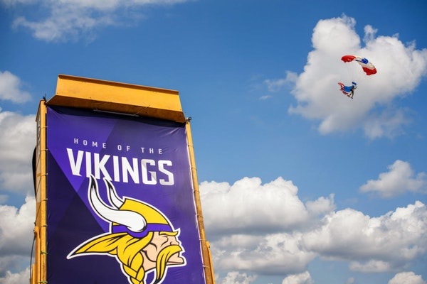 The Vikings will move their training camp from Mankato to Eagan in 2018.