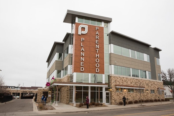 The Planned Parenthood Minnesota, South Dakota and North Dakota headquarters in St. Paul.