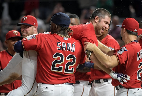 Joe Mauer, in the middle of a home plate fracas after hitting a walk-off home run against the Red Sox in May, is having one of his best seasons at the