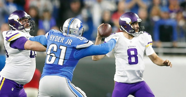 Luck evened out for Twins; Vikings shouldn't have to worry about that