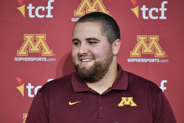 The Gophers will look to Jared Weyler to anchor the offensive line.