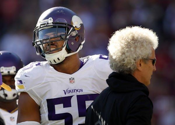 Vikings outside linebacker Anthony Barr