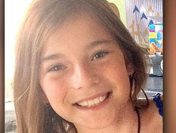 Maren Kesselhon, 11, was bitten while dangling from a paddle board on Island Lake north of Duluth.