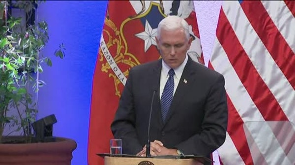 Pence: I stand with Trump on Charlottesville