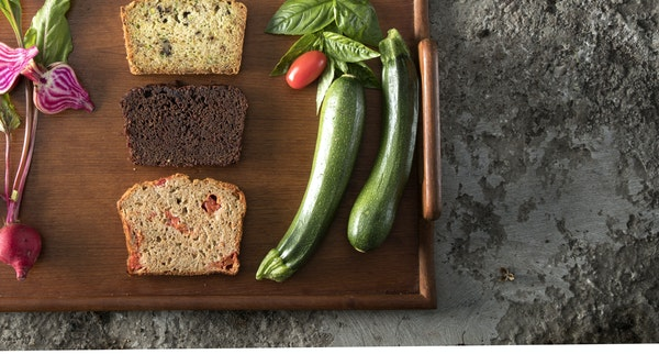 Veggies can make a great quick bread.