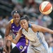 """Lynx guard Renee Montgomery has started the past four games, replacing injured Lindsay Whalen. """"She's trying not to mess up,"""" Lynx coach Cheryl"""