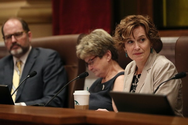 Mayor Betsy Hodges, shown earlier this month with the Executive Committee, called the petition frivolous and the judge's decision common sense.