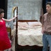 """Actor James Rodriguez, who has shown his range on Twin Cities stages is seen here with Sarah Marsh in the Sam Shepard play """"Fool for Love."""""""