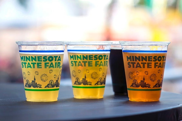State Fair beers from the Minnesota Craft Brewers Guild.