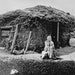 This photo of Beret Olesdatter Hagebak seated in front of her family's sod home 7 miles east of Madison, Minn., probably around 1880, has become a s