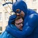 """Griffin Newman and Peter Serafinowicz in """"The Tick."""""""