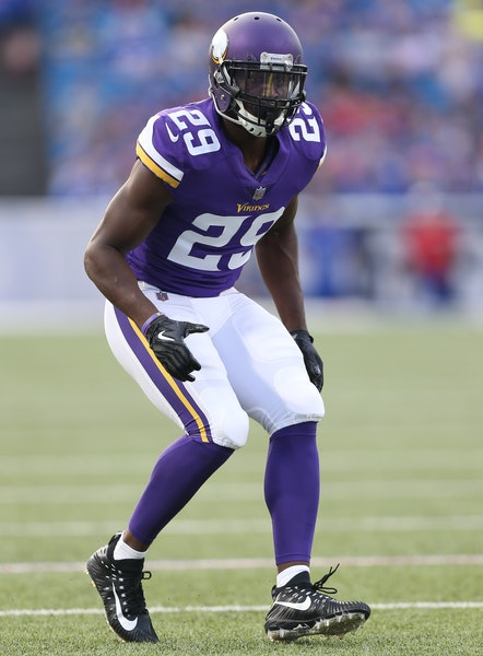 The Vikings' Xavier Rhodes is one of the NFL's top cornerbacks; he will likely shadow the Steelers' Antonio Brown.