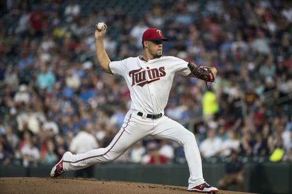 Berrios struggles with command but limits damange
