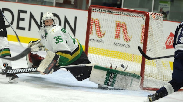 Wild signs 18-year-old goalie to three-year, entry-level deal