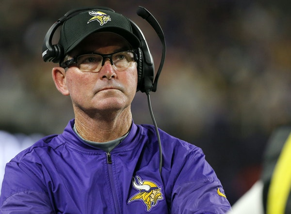 Vikings coach Mike Zimmer watched from the sidelines during the second half of an NFL preseason football game against the San Francisco 49ers in late