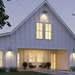 Traditional farmhouse with a modern vibe. plan091017