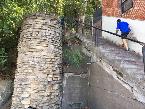 Stillwater stairs
