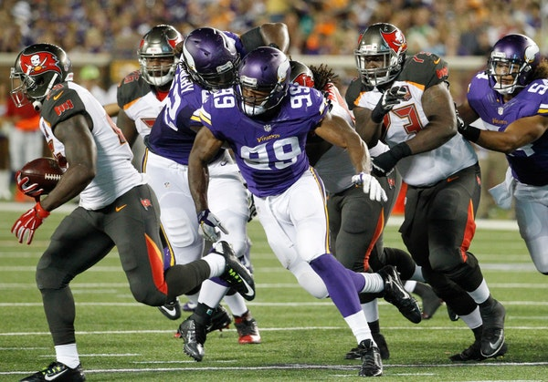Vikings mailbag: Hunter drawing attention, offensive line's resurgence