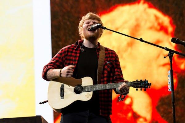 Ed Sheeran's big-league tryout set for U.S. Bank Stadium on Oct. 20, 2018