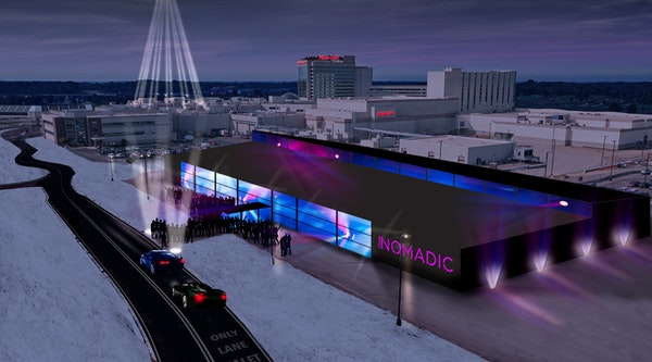 Club NOMADIC, the world-famous traveling night life experience that was in Houston last year, will call the Shakopee Mdewakanton Sioux Community's M
