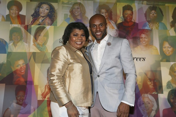 April D. Ryan and Kenny Latimore attend the Salute Her: Beauty of Diversity Awards luncheon presented by Toyota & AARP hosted by WHUR and Cafe Mocha R