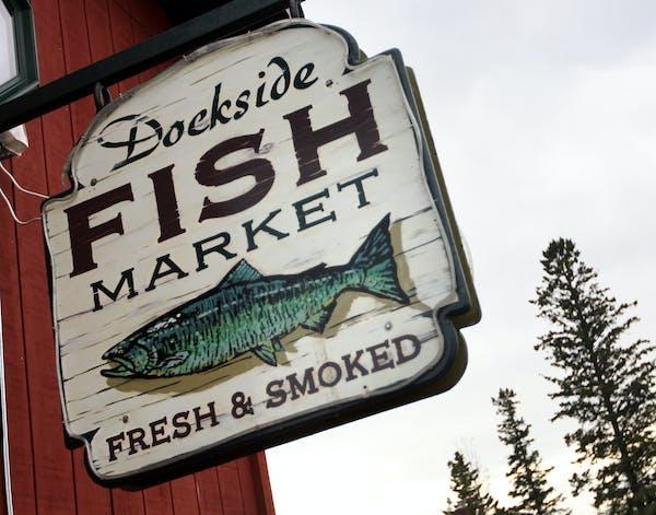Dockside Fish Market in Grand Marais, Minn.