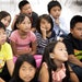 Third-graders at the Community School of Excellence, a St. Paul charter school, listened in Hmong language class.