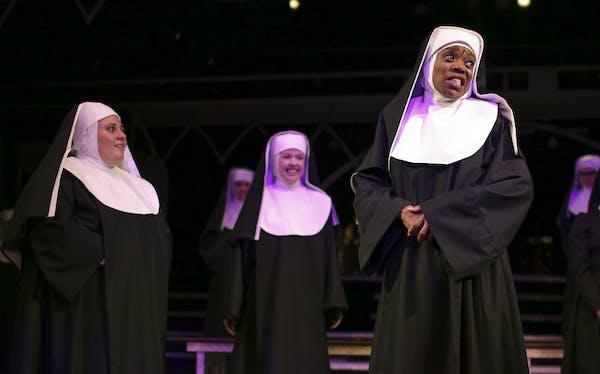 "Regina Marie Williams in ""Sister Act.""JEFF WHEELER • jwheeler@startribune.com"