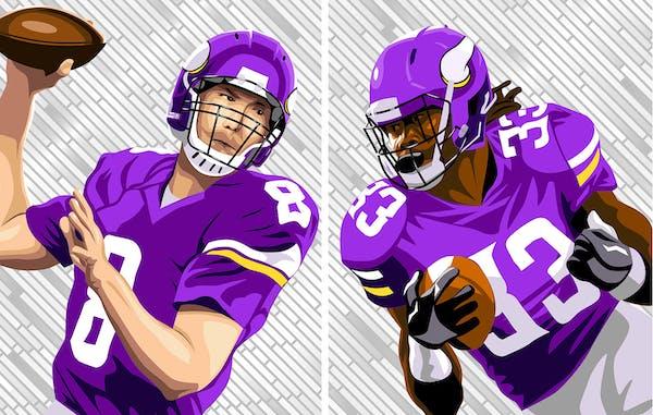 Vikings kickoff: Offense reboots, defense hammers down