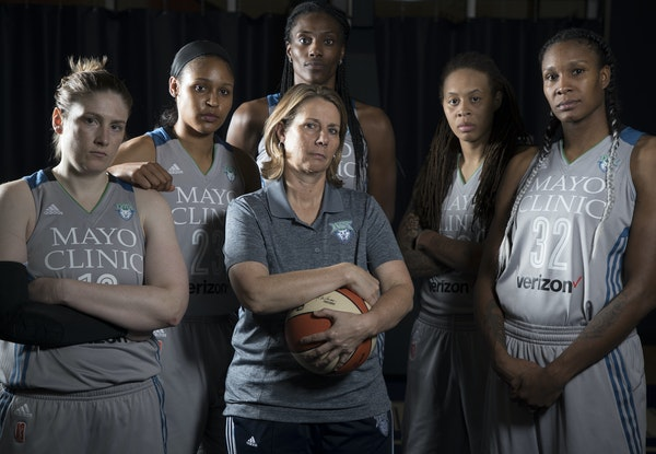 Lynx coach Cheryl Reeve and starters Lindsay Whalen, Maya Moore, Sylvia Fowles, Seimone Augustus and Rebekkah Brunson have been waiting for another sh