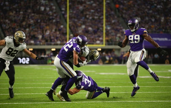 After Zimmer's prodding, Vikings defense comes up big in the red zone