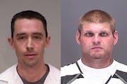 Michael Weigel, 39, left, and William Eldridge, 27, right, both were sentenced under Minnesota's revenge porn statute.