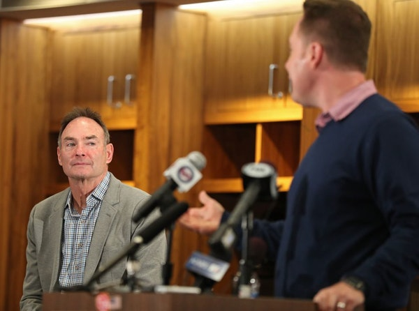 The Minnesota Twins and chief baseball officer Derek Falvey announced the contract extension of the team's skipper Paul Molitor inside the Target Fiel