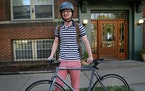 """Michael Johnson of Minneapolis said biking has become a way of life. """"I understand this city in a way I never could have if I continued to bus or dr"""