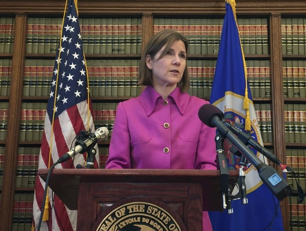 Minnesota Attorney General Lori Swanson announced Friday she'll join a lawsuit with California and other states challenging President Donald Trump's d