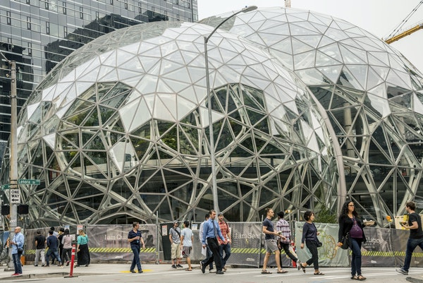 Would turning the Twin Cities into a second Amazon company town be good for the region, when Amazon's growth could come at the expense of a group of