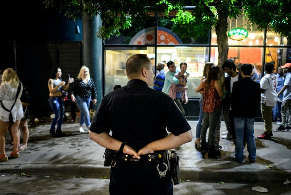 City officials are hoping more cops on downtown streets will calm late-night revelers and send a strong message.