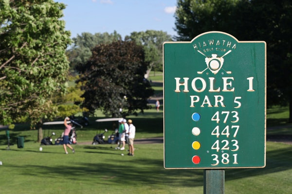 Hiawatha Golf Course could close if the Park Board decides to reduce the groundwater pumping that keeps the course dry.