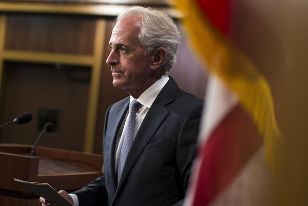 Sen. Bob Corker of Tennessee isn't running for re-election.