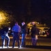 St. Paul Police and the Minnesota BCA investigate an officer involved shooting crime scene on Euclid Street.