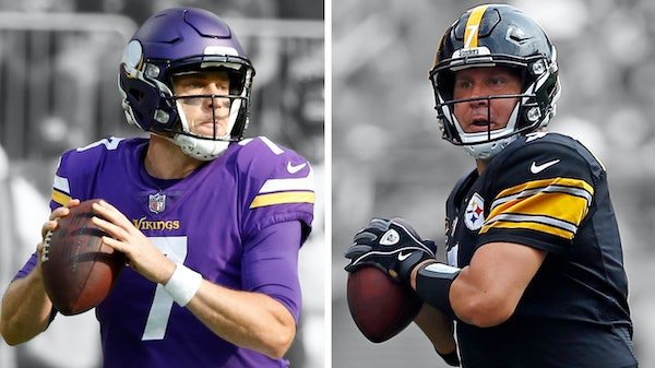 Are the Vikings Super Bowl bound? Against Pittsburgh, maybe?