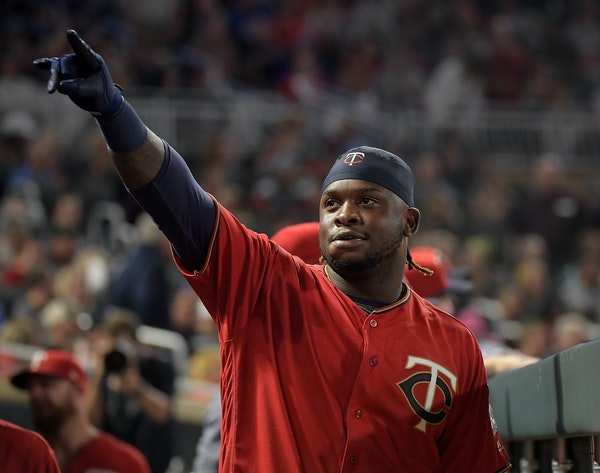 Miguel Sano has missed the past month because of a shin injury.
