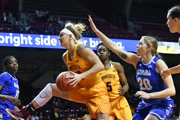 Gophers women's basketball senior Carlie Wagner was named to the preseason All-Big Ten team Monday by both coaches and media covering the conference