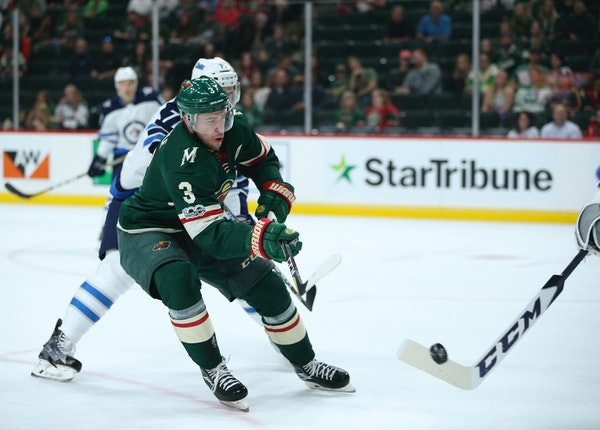 Minnesota Wild center Charlie Coyle is out 6-8 weeks with a broken leg, the team announced Friday.