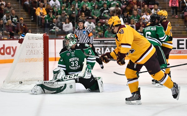 Upcoming Gophers men's hockey rivalry games at Minnesota-Duluth and North Dakota will be televised -- but not in wide swaths of Minnesota.