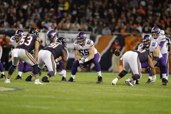 Healthy, stable offensive line could signal continued success for Vikings