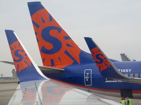 Sun Country Airlines announced new carry-on and checked bags fees Monday — and customers will pay more to carry on than check through.
