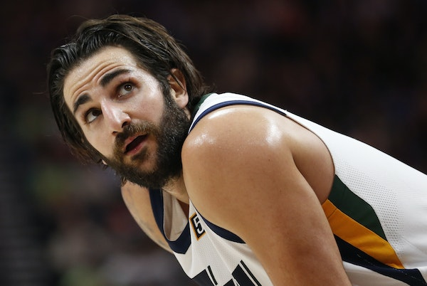 Ricky Rubio had a very Rubio-like nine points and 10 assists in his debut with the Utah Jazz on Wednesday night in Salt Lake City.