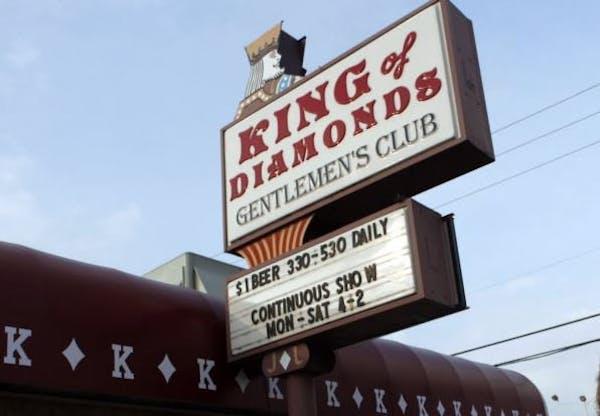 King of Diamonds Gentlemen's Club in Inver Grove Heights, Minn.